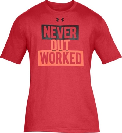 Under Armour Never Out Worked