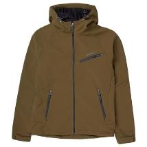 Emerson Mens Soft Shell Jacket with Hood