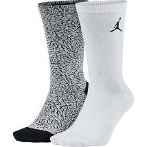 Jordan Elephant Print Socks (2 Pair)