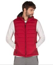 Emerson Mens Vest Jacket with Hood