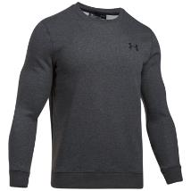 UA Rival Fleece Solid Fitted Crew